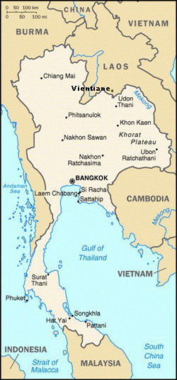 Nong Khai Thailand Map.Travel To Thai Holiday Villa Location Map Udon Thani Thailand